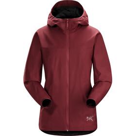 Arc'teryx W's Solano Jacket Scarlet